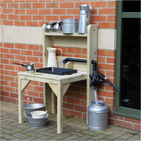 Outdoor Wooden Sink Unit