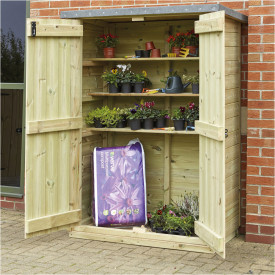 Outdoor Wooden Storage Cupboard