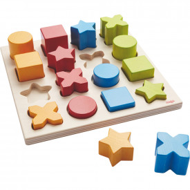 Wooden Sorting Game Shape Mix