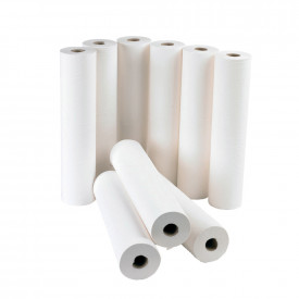 Hygiene/Couch Rolls Large White 2 Ply