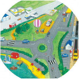 BIG DEAL Transport Active World Tray Play Set