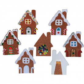 Gingerbread House Cards