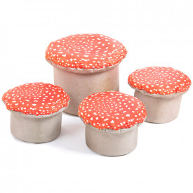 Learn About Nature Toadstool Seats