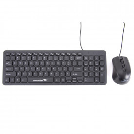 Consortium Wired Keyboard and Mouse Set