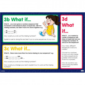 What If Maths Activity Cards