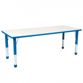 Valencia Rectangular 8 Seater Table Blue