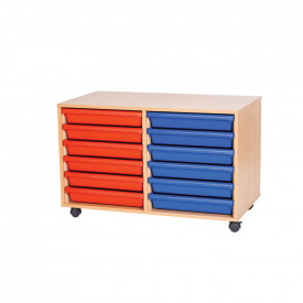 Double Mobile A3 Tray Unit