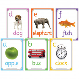 A6 Alphabet Picture Cue Cards
