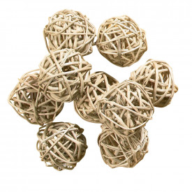 Small Wicker Balls