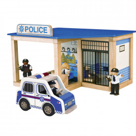 BIG DEAL: City Police Station Set