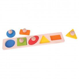 Geo Matching Shape Board