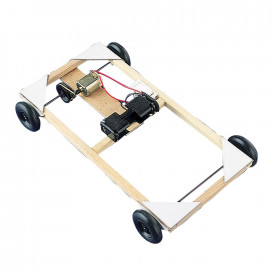 Motorised Pulley-Driven Chassis Kit