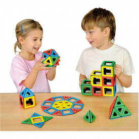 Magnetic Polydron Sets
