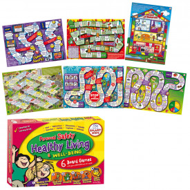 Personal Safety and Well Being Board Games Set