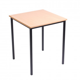 MDF Edge Welded Frame Square Tables 600mm x 600mm