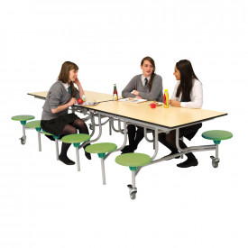 12 Seater Rectangular Mobile Folding Table