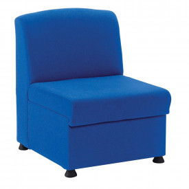 Glacier Upholstered Reception Chair and Arms