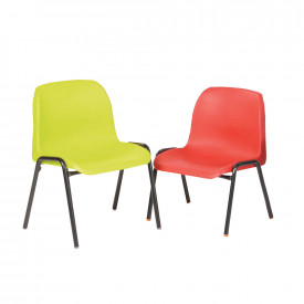 Affinity Classroom Chairs - Red, Green and Purple