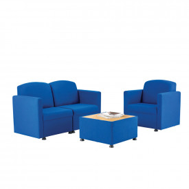 BIG DEAL Glacier Modular Reception Seating Bundle