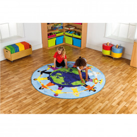 Children Around the World Mat