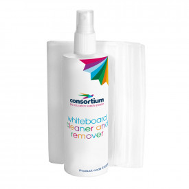 Consortium Whiteboard Cleaner & Cloths