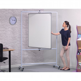 Vertical or Horizontal Pivoting Whiteboards
