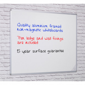 Non Magnetic Whiteboards