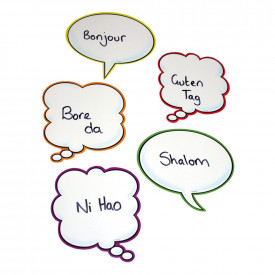 Display Shapes Speech Balloons