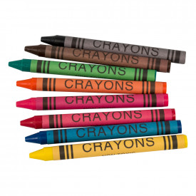 Budget Essentials Standard Wax Crayons
