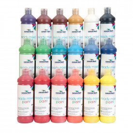 Consortium Ready Mixed Paint - Single Colours 6x600ml
