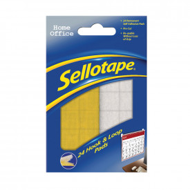 Sellotape® Hook & Loop Pads