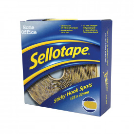 Sellotape® Hook Spots and Strips