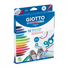 Giotto Decor Textile Markers