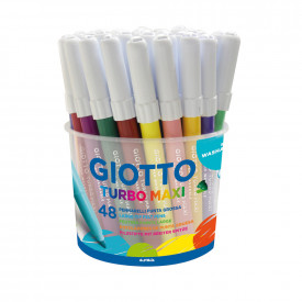Giotto Turbo Maxi Colouring Pens