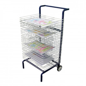 30 Shelf Mobile Drying Rack