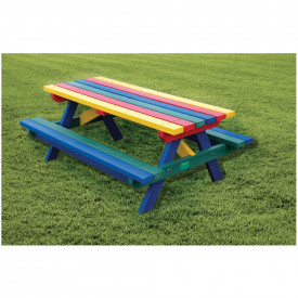 Rainbow Junior Picnic Table