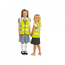 Children's Hi-Vis Yellow Vests