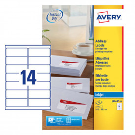 Avery Inkjet Labels