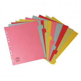 Extra Wide A4 Manilla Dividers