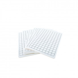 Consortium Mini Whiteboards with Grid Squares