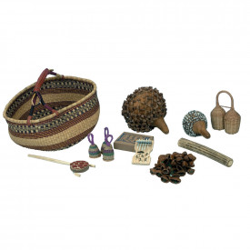 Multicultural Percussion Basket